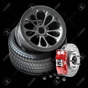Tyre change in Sharjah